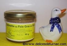 Tartinette au Foie Gras de Canard