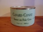 Canard Confit Sauce au Foie Gras
