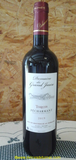 Vin Domaine du Grand Jaure Pécharmant 2016<br />