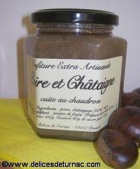 Confiture Poire et Châtaigne