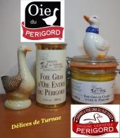 Marque collective pour nos Foie Gras d'Oie, et bien sur l'I.G.P pour nos Foies Gras de Canard
