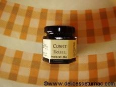 Confit Truffe, un régal  avec le fromage de caractère...